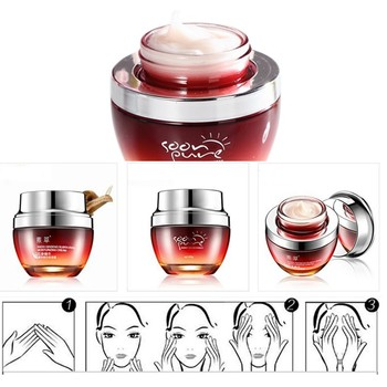 New Red Ginseng Snail Cream Face  4