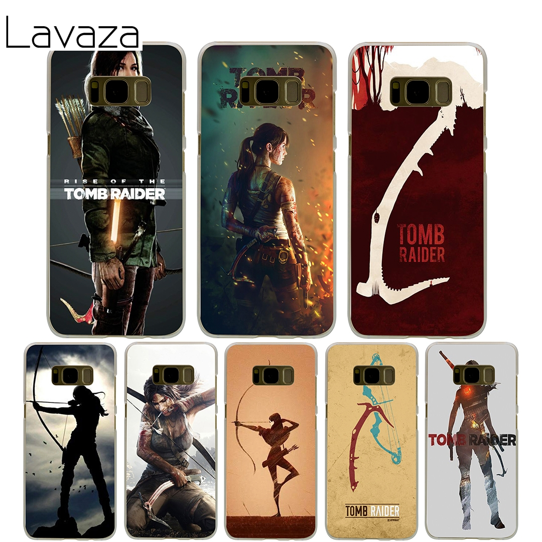 Lavaza Tomb Raider Cover Case for Samsung Galaxy S7 Edge S6 S8 S9 Edge Plus S5 S4 S3 Mini S2 Cases Shell ...