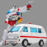 G1 Transformation Ratchet Oversize MPP30 MPP-30 TF Alloy Metal Enlarge MP30 MP-30 ambulance Leader Figure Robot Toys