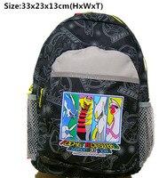 Anime Kawaii Pocket Monster Bag Bakcpack Diamond Pea Bag Canvas School Kids Travel Gift Backpacks