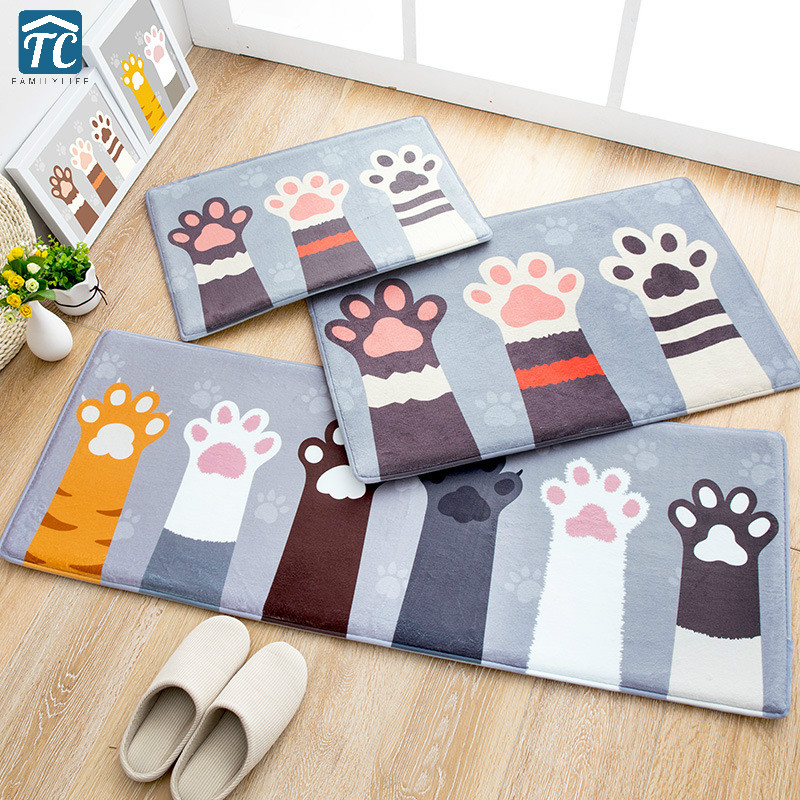 Entrance Anti-Slip Doormat Bedroom Rugs living room Carpets Decorative Stair Mats Dirts Trapper Indoor Super Absorbent Kitchen