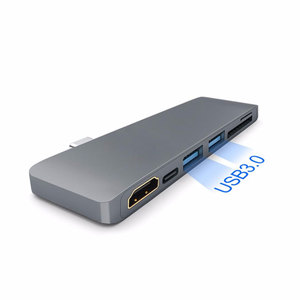 Image 3 - EASYA Thunderbolt 3 Adapter Type C to HDMI Hub for Samsung DEX Station USB C Dock with PD SD/TF Card Reader USB 3.0 Port