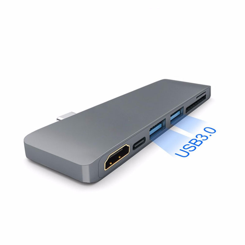 Image 3 - EASYA Thunderbolt 3 Type C to HDMI Hub Adapter for Samsung DEX Station USB C Dock with PD Power SD/TF Card Reader USB 3.0-in Type-C Adapter from Consumer Electronics