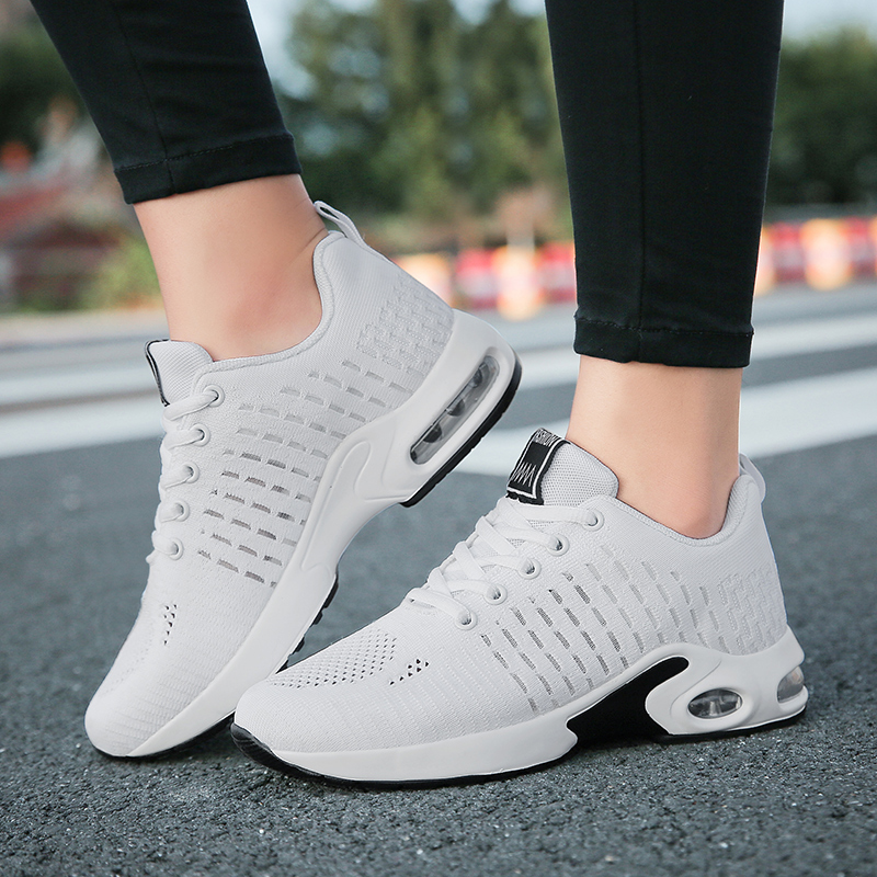 Breathable Mesh Outdoor Women Shoes Platform Sneakers Women Tenis Feminino Casual Female Shoes(China)