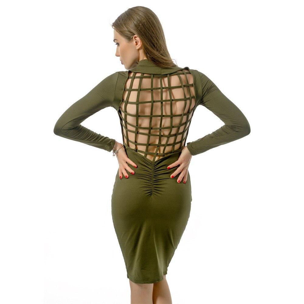 46baf728ab36 2016 Women Autumn Dress Plus Size Slim Bandage Bod...US $14.22 High quality  Autumn new Long Sleeve ...