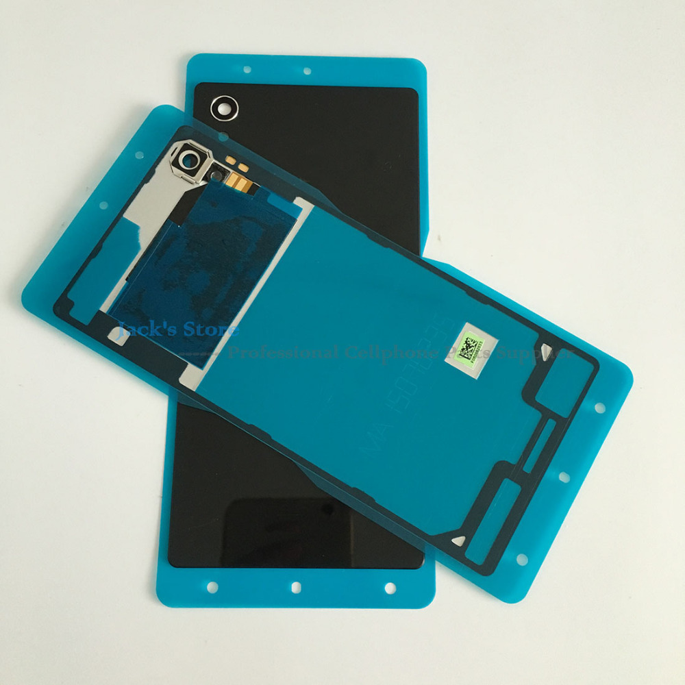 Original For Sony Xperia M4 Aqua Battery Housing Door Cover Case With Nfc Antenna Adhesive E2303 E2333 E2353 Back In Mobile Phone Housings From