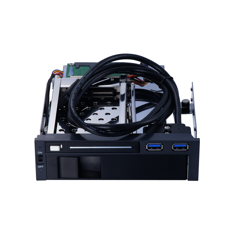 2 5 inch 3 5 inch SATA internal HDD SSD anti vibration mobile rack for 5