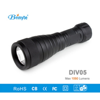Brinyte DIV05 LED Diving Light CREE XML2 1000lm LED Scuba Diving Torch LED Diving Flashlight 200M Underwater Lamp