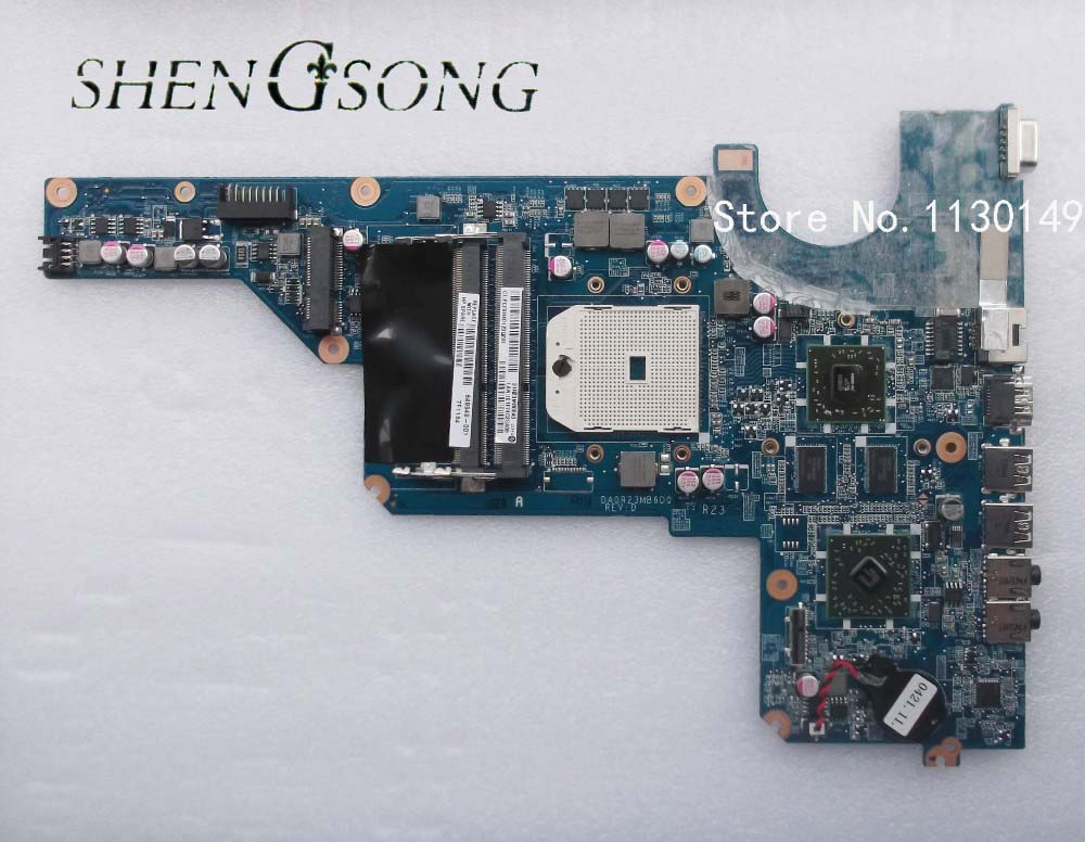 649950-001 Free shipping Laptop Motherboard 649949-001 For G4 G6 G7 G4-1000 G6-1000 motherboard series DA0R23MB6D1 Tested OK дроссель с изу galad 1и 1000 днат 46 001 01535