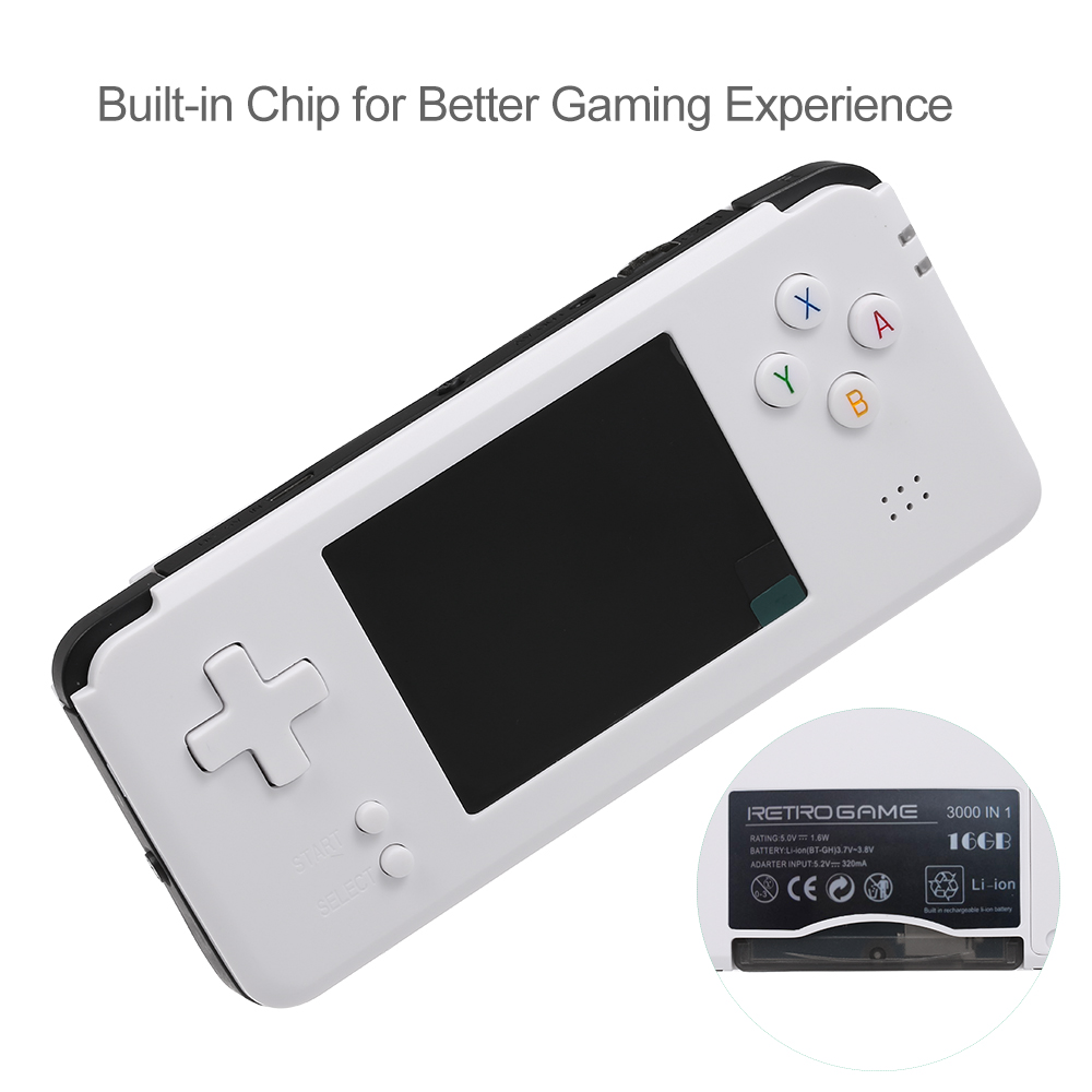 2019 R9 Plus Portable Handheld Game Console Retro 3000 Video Games Retro Handheld Game Player AV