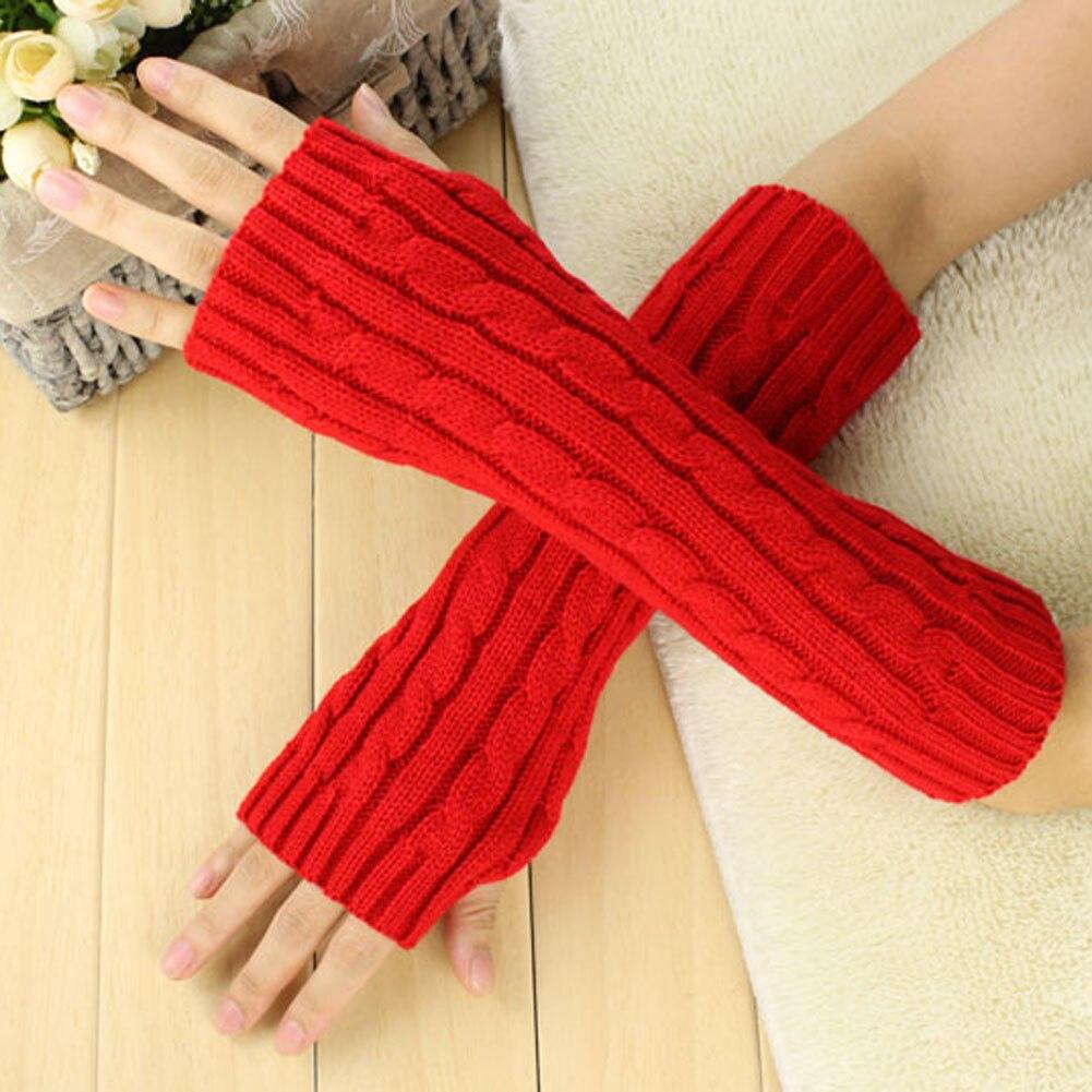 Frauen Der Männer Lange Gestrickte Häkeln Fingerlose Geflochtene Arm Wärmer Handschuhe 9dt8 Bekleidung Zubehör Damen-accessoires