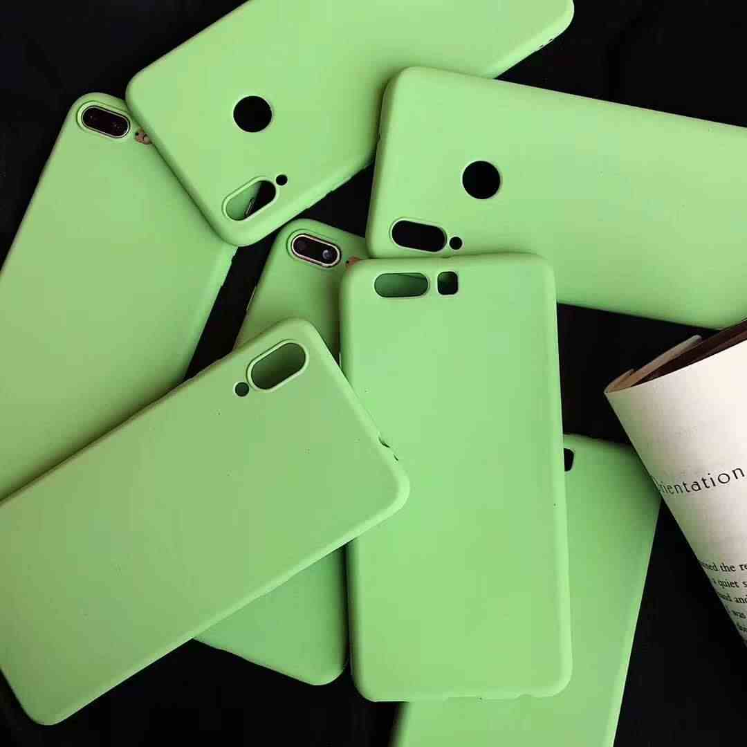 Matcha Green Sand Frosted Case For OPPO R7 R7S R9 R9S R11 TPU A31 A33 A37 A39 A53 A57 A59 A77 A79 A83 A3 A5 A7 Cover Phone Cases