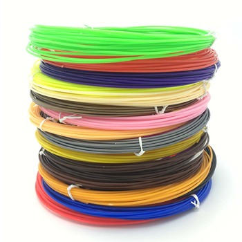 1.75mm ABS Filament Printing Materials Plastic For 3D Pens Black White Red Pink Green Orange Blue yellow purple Colorful Rainbow 3D Printing Materials