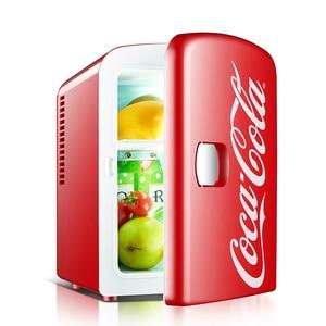 Mini Refrigerator Portable Car Home Dual-use Portable Mini Fridge Dormitory Student Heating Cooling Box Car Dc 12v Refrigeration