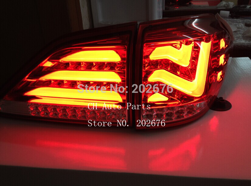cha for lexus 2009 up rx270 rx300 rx350 rx450h led tail. Black Bedroom Furniture Sets. Home Design Ideas