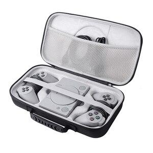 Image 1 - 2019 Nieuwe EVA Hard Carry Opslag Perfecte Bescherming Case voor Sony Playstation Classic Mini Console, 2 Controllers en Accessoires
