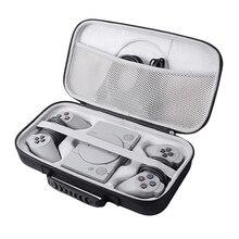 حقيبة حماية مثالية للتخزين لحمل الأشياء الصلبة EVA جديدة لعام 2019 لوحدة التحكم الصغيرة الكلاسيكية Sony Playstation ، ومحكمتين وملحقاتها