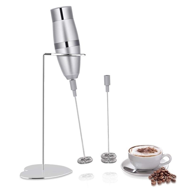 Melk Blender-Melkopschuimer, Elektrische Handheld Schuim Maker Voor Maken Lattes Koffie, Cappuccino, Hot Chocolade, als Creamer Een