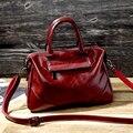 CHISPAULO Bolsos de Cuero Genuino de Las Mujeres de Señora de la Marca de Lujo de Las Mujeres Bolsos de Diseño de Alta Calidad Bolsas de Hombro Retros X77