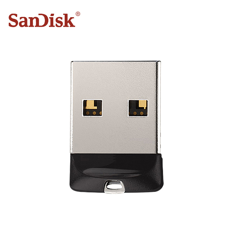 100% Original SanDisk USB 2.0 SDCZ33 Mini Pen Drives 64GB 32GB 16GB 8GB USB Flash Drive Stick U Disk USB Key PENDrive for PC 3