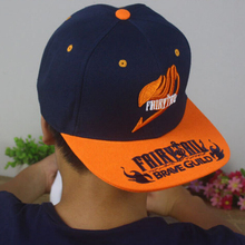 Anime Fairy Tail cotton baseball cap Sun hat cosplay gift Hip-hop NEW Fashion