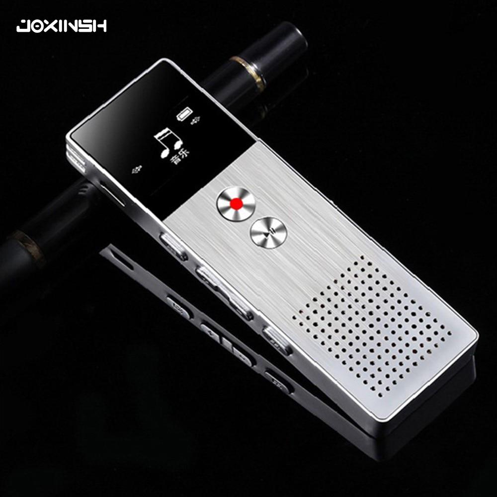 8 GB Mini Flash enregistreur vocal numérique Dictaphone MP3 lecteur de musique Gravador de voz Support TF carte haut-parleur intégré