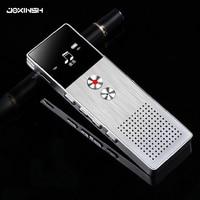 8GB Mini Flash Digital Voice Recorder Dictaphone MP3 Music Player Gravador de voz Support TF Card Built in Loudspeaker