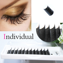 South Korea Silk Class lash Extension Flat Lash All Curl & Length Avaliable Volume Lashes Hand Made Indivaidual False Eyelashes