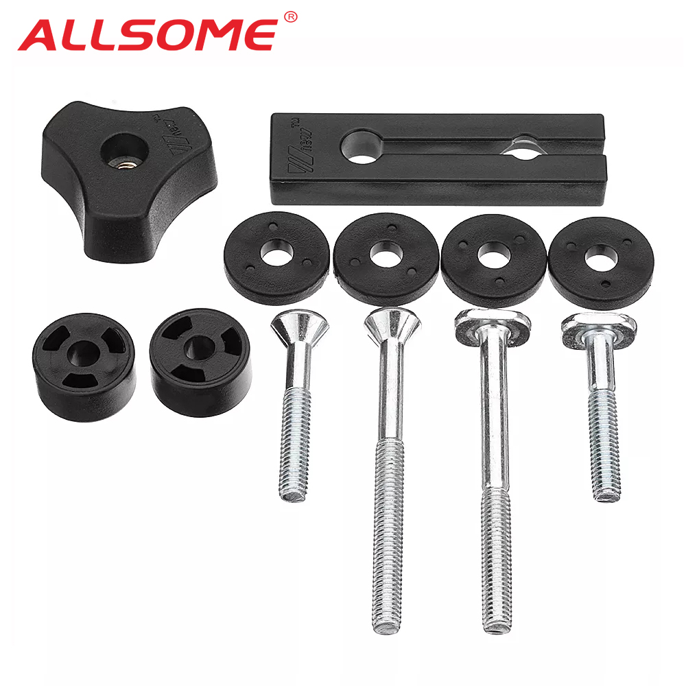 ALLSOME Woodworking Tool Accessary Quick Action Hold Down Clamp Handle Nut Screw for T-Slot T-Tracks HT2566-2572