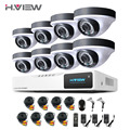 AHD-H 8CH CCTV System 1080P DVR  Outdoor Video Surveillance Security Camera System 8 CH DVR alarm systems security home