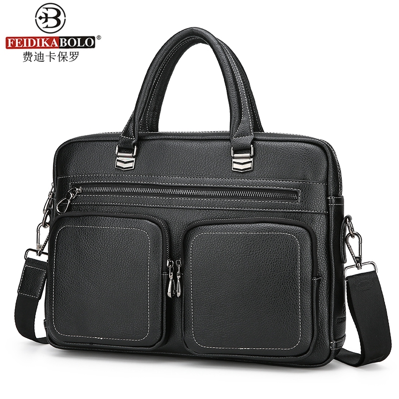 2017 Fashion men PU handbag casual briefcase business shoulder black leather high quality messenger bag handbag handbag men bag free shipping ep2c8q208c8n qfp ic 5pcslot
