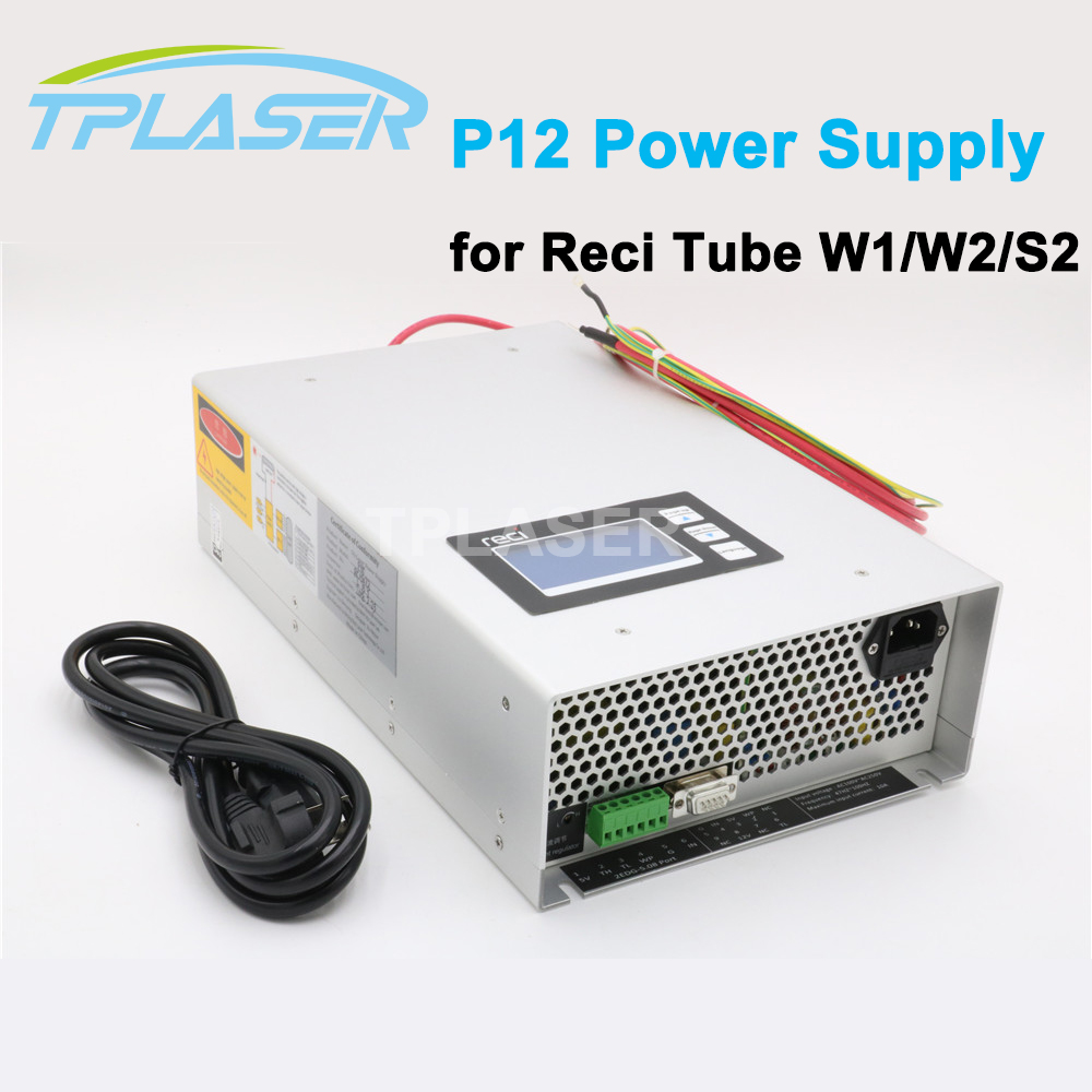 RECI P12 Display Co2 Laser Power Supply 80W For Laser Tube S2/Z2
