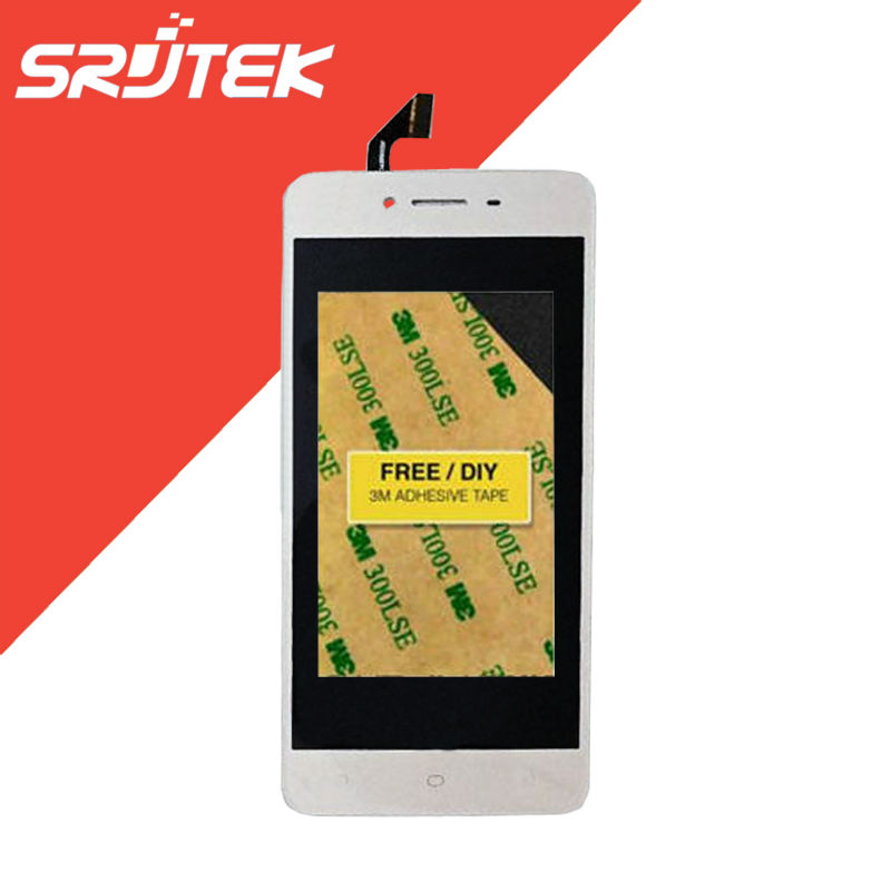 5.0 inch For OPPO A37 LCD Display Panel with Touch Screen Digitizer Full Assembly without Frame Black/White/Gold