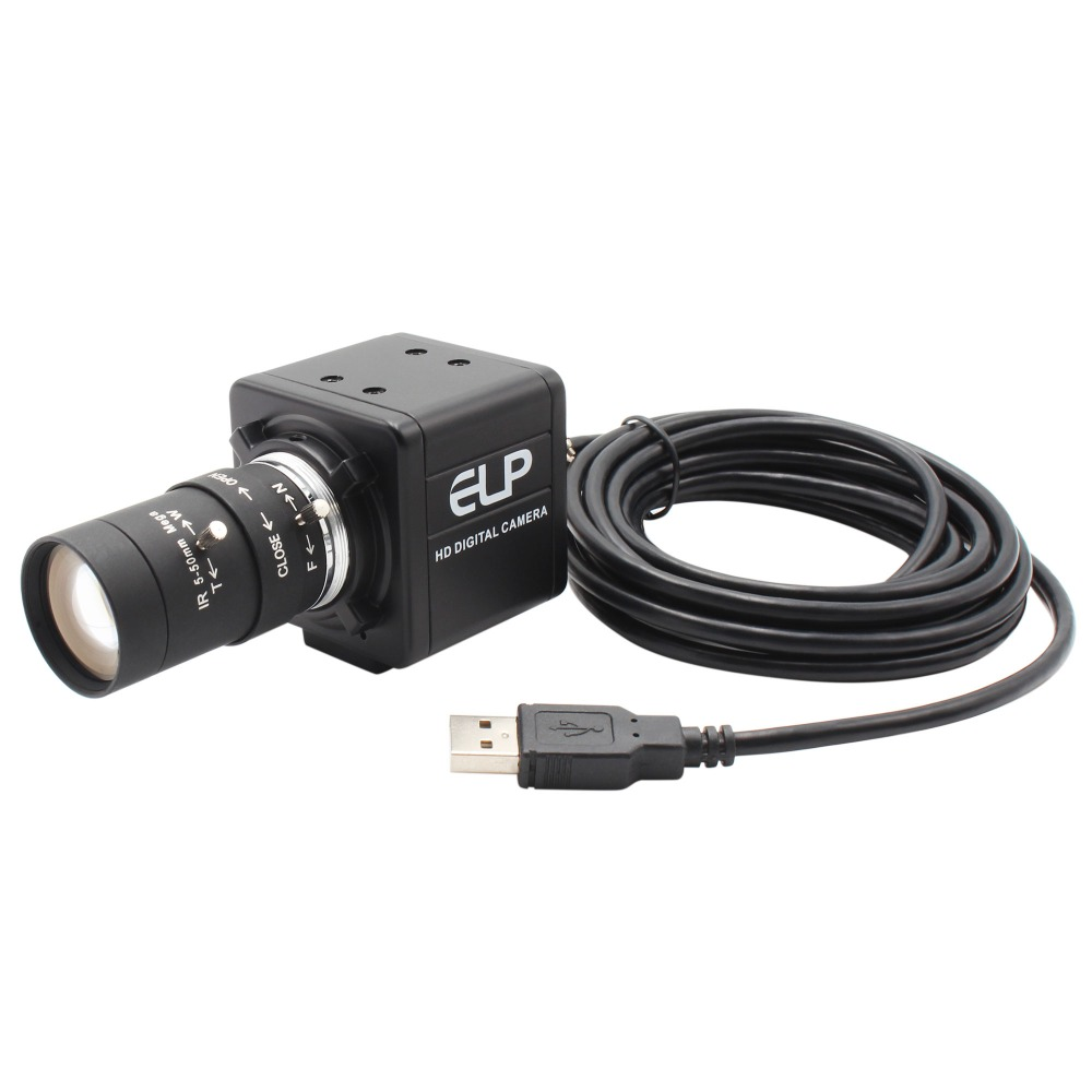Image 3 - 13 Megapixel 3840x2880 USB Webcam mini PC Webcam USB Camera with 5 50mm Varifocus Lens for PC Skype ,Video calling recording-in Webcams from Computer & Office
