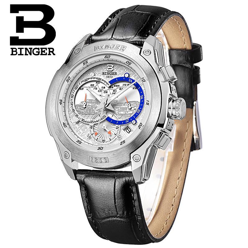 Szwajcaria zegarki mężczyźni luksusowa marka Zegarek na rękę - Męskie zegarki - Zdjęcie 6