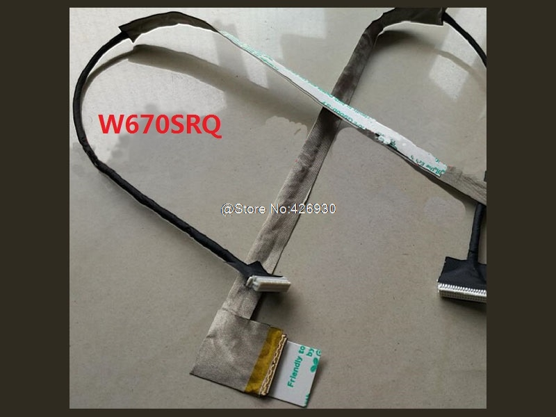 все цены на Laptop LCD Cable For CLEVO W670SRQ LVDS 6-43-W6701-011-N/N550RC EDP 6-43-N5501-010-1 30P 1920*1080 LVDS онлайн