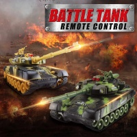 44x16x15cm RC Tank Battle CrawlerTank Big Size Car Model Remote Control Tank Remote Control Tank RC Toys Gifts for Kids Children