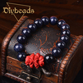New Fashion Natural Sandstone Bracelet Jewelry Agate Quartz Crystal Bead Pulseras Diybeads