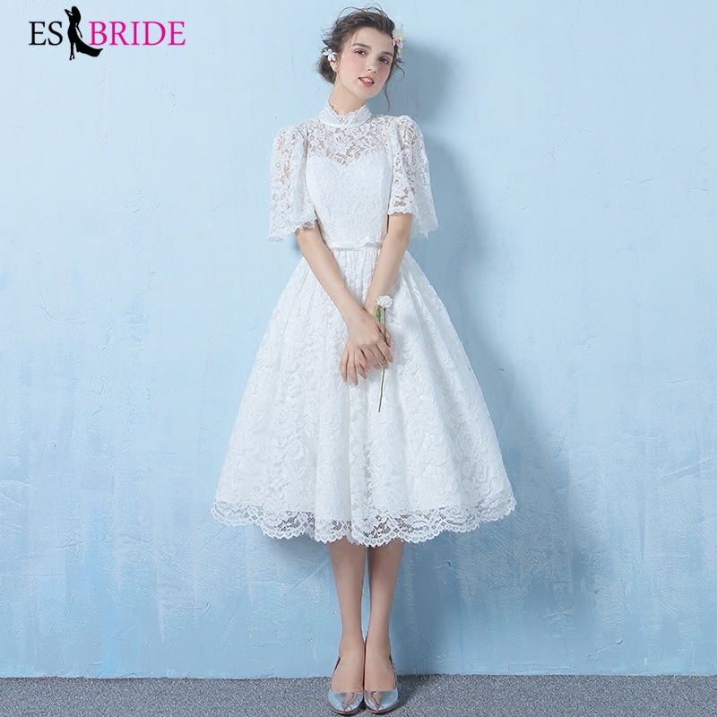 Prom Dress Party Special Occasion Dresses Formal Evening Dress White Lace Long Evening Dresses Evening Gowns For Women ES2547