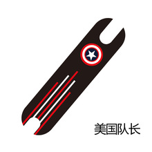 For XIAOMI Mijia M365 DIY Scooter Pedal Footboard Tape Sandpaper Sticker Electric Skateboard Anti-slip Protective Skate Stickers