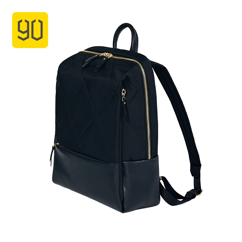 XIAOMI 90FUN Fashion Diamond Lattice Backpack 14 inch laptop Bags for Women Girls Ladies for School College Travel Trip 3