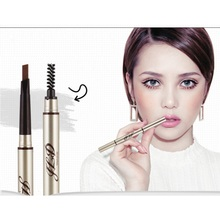 5 Colors Waterproof Eyebrow Makeup Automatic Rotation Eye Pencil Brush Cosmetic xgrj