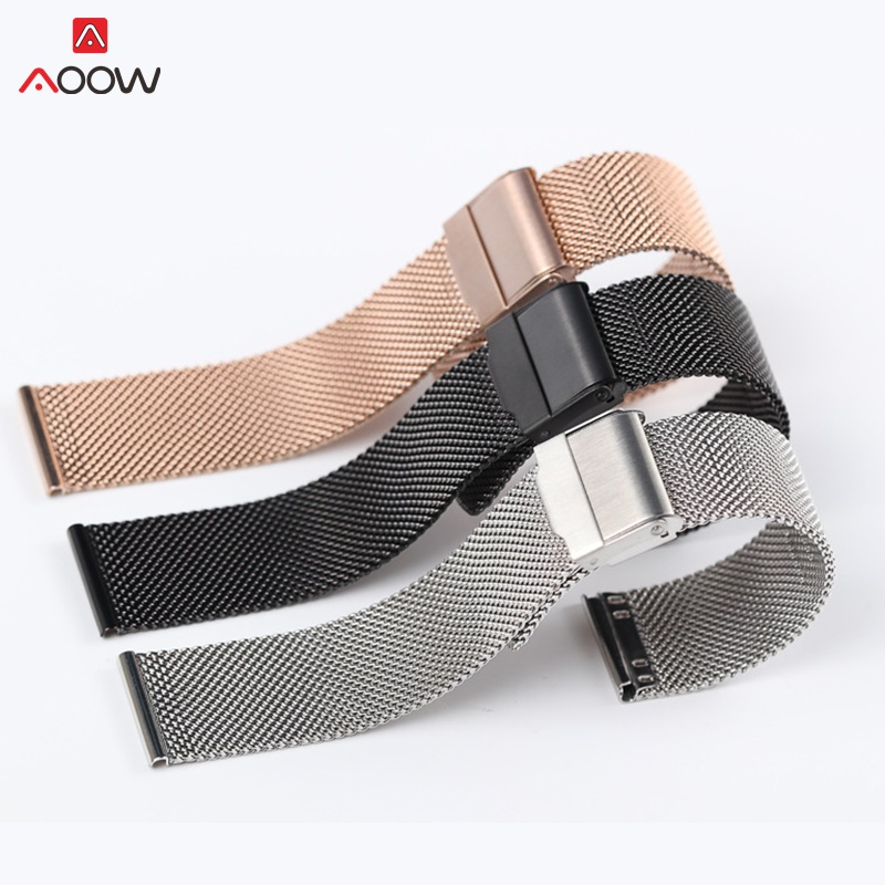 Milanese Loop For DW Watchband 12 14 16 18 20mm Stainless Steel wrist strap watch Bracelet belt generic Milanese watchband