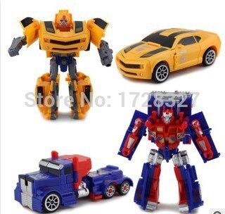2019 Nya 17-21cm robokare Transformationsrobotar VOYAGER Action Figurer Klassiska leksaker för pojkens gåvor WJ018