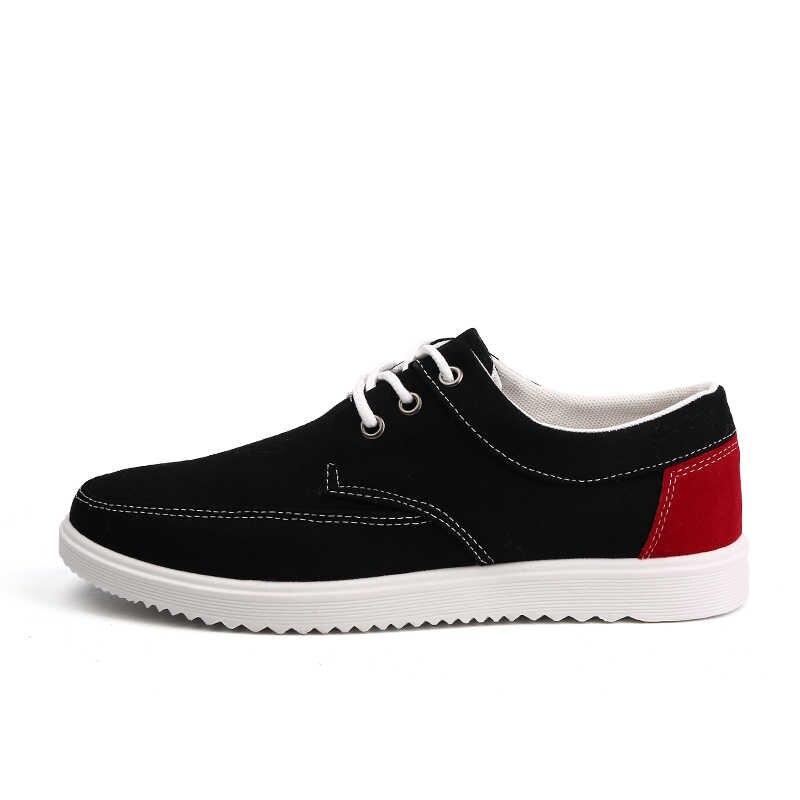 Homens Skate Sapatos de Lona Esporte 2018 Fresco Peso Leve Tênis Atlético Sapatos Ao Ar Livre Homem Respirável Sapatos De Alta Qualidade