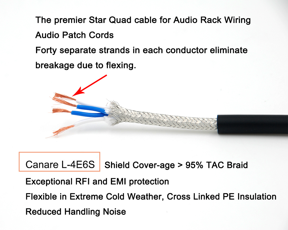 10ft 3m M83 Single Balanced Xlrm F 3pin Canare L 4e6s Audio Micro Rack Wiring Cable In Cables From Consumer Electronics On Alibaba Group