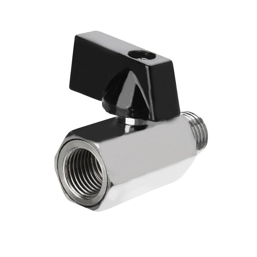 """1 Stück Mayitr Mini Messing Ball Ventil 1/2, 1/4 """", 1/8 """"bsp Männlich Zu Weiblich Luft Kompressor Ventile"""