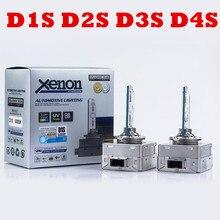 Высокое качество 35W hid xenon D1S D3S замена HID XENON D1S D2S D4S лампы 4300K 6000K 8000K