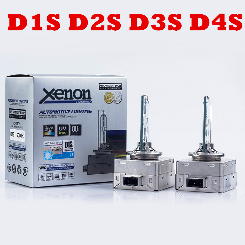 High Quality 35w Hid Xenon D1s D3s Replacement Hid Xenon D1s D2s D4s Bulbs 4300k 6000k 8000k