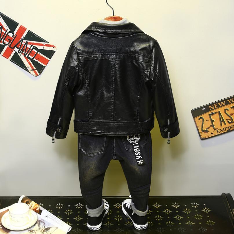 pu jaqueta de couro jaqueta menino menina 02